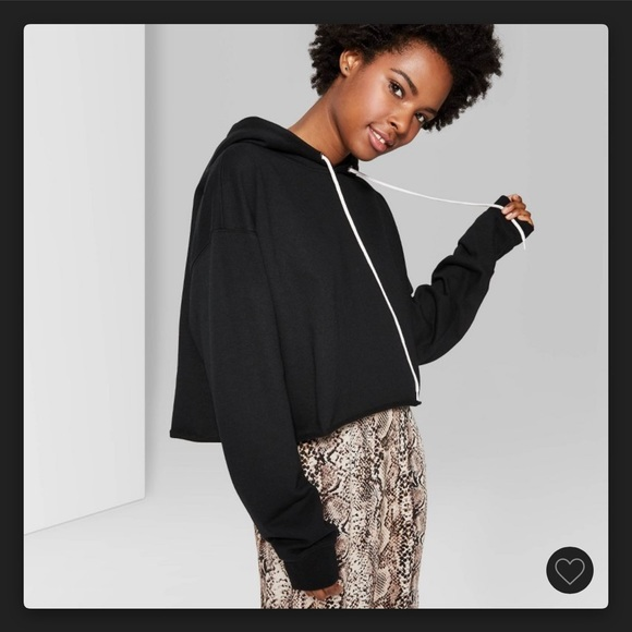 Wild Fable Cropped Hoodie